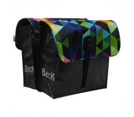 Beck Small Colored Triangles 35ltr