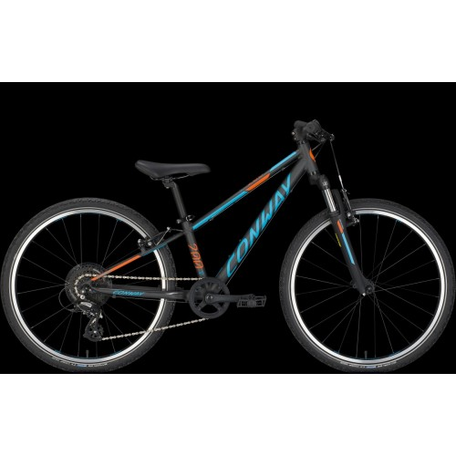 Conway Ms200 24, Black Matt / Blue